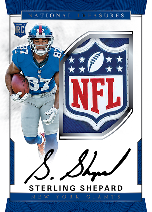 Rookie Autograph Patch Sterling Shepard